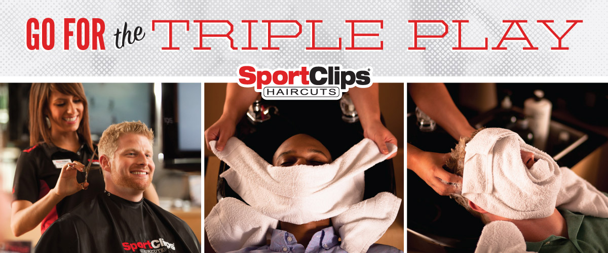 The Sport Clips Haircuts of O'Fallon IL Triple Play